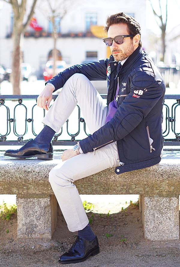 biker jacket style for man