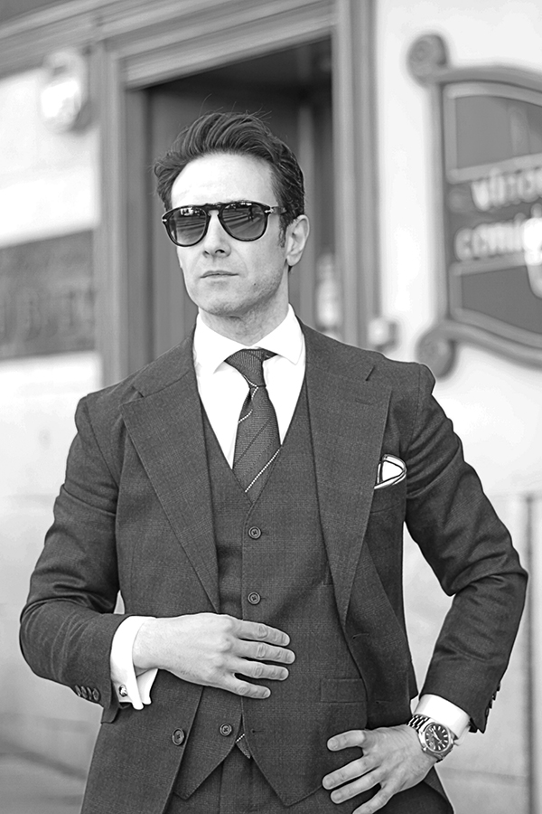 classic suit for men