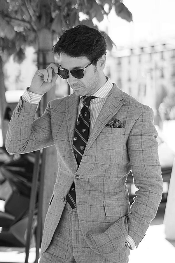 classic suit for men