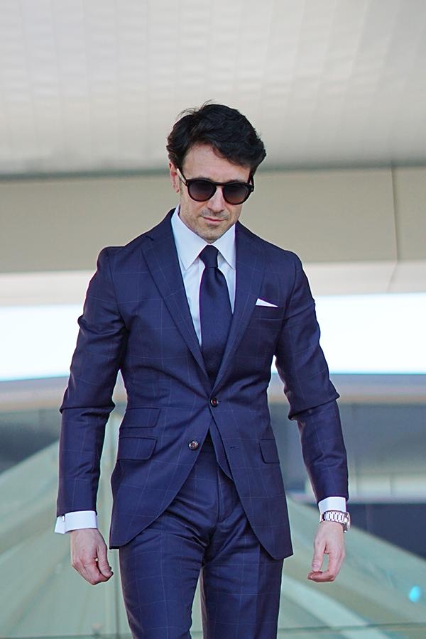 james bond style