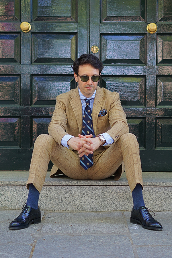 preppy suit style for men