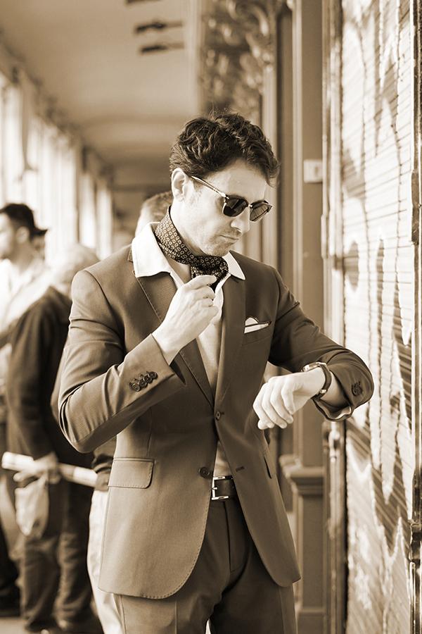 30´s style men