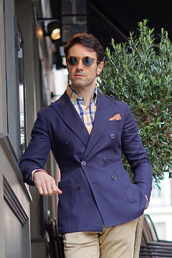 blue blazer style