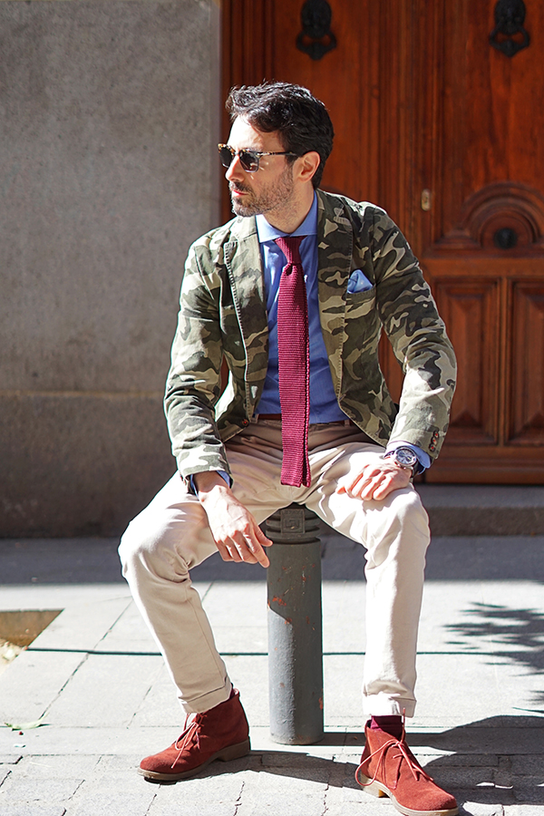 camouflage style for men