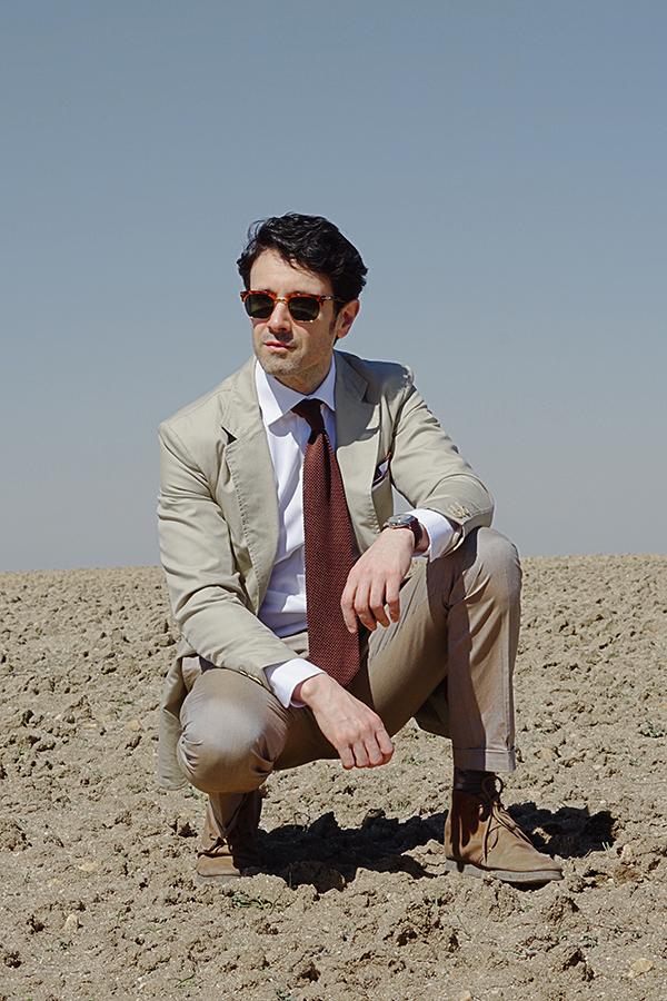 desert outfit for men