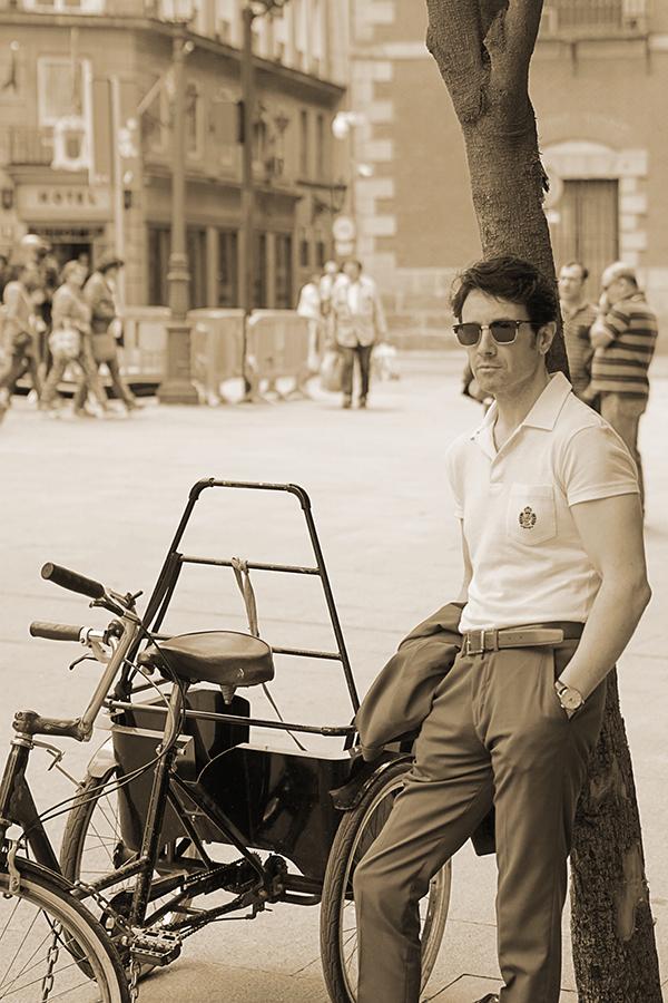 vintage men outfit