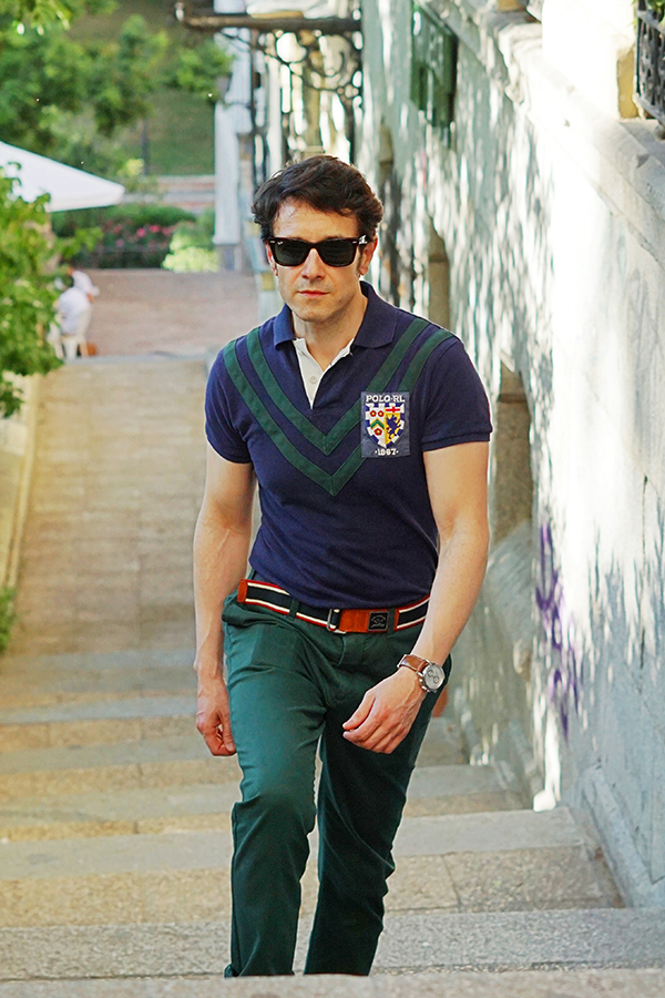 summer polo shirt style