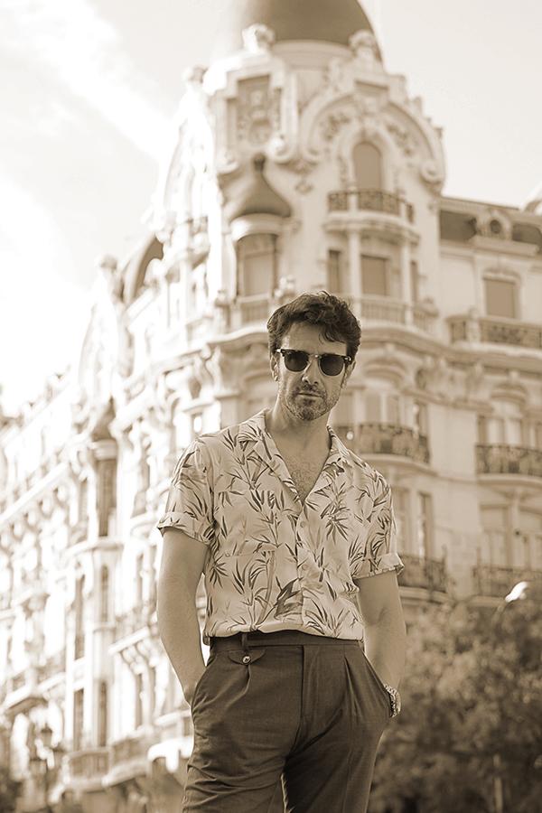 vintage style men