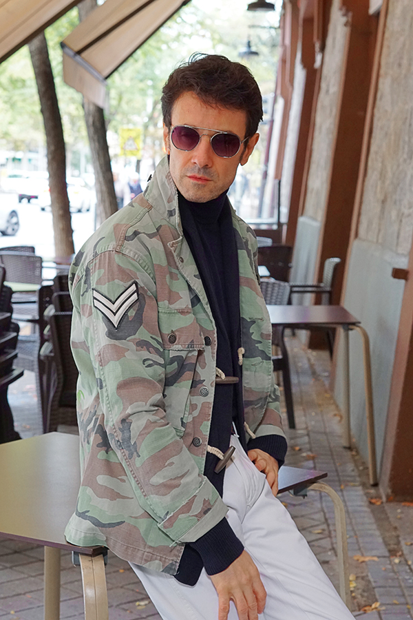 military style for men