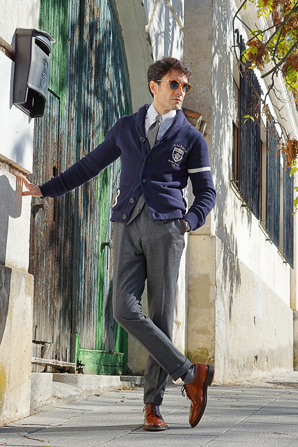classic outfit for men