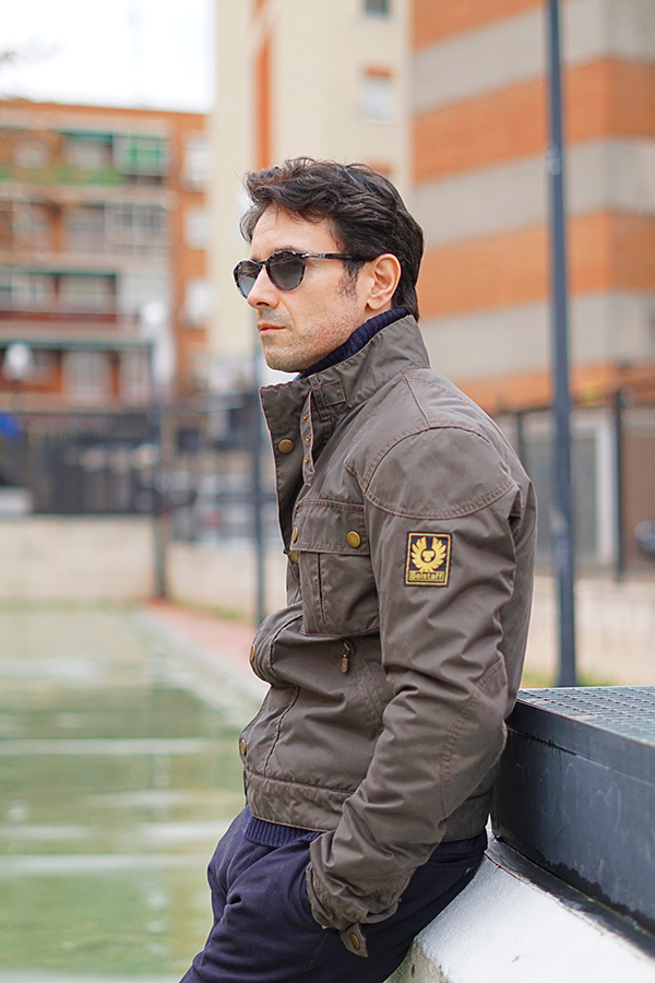 belstaff jacket men
