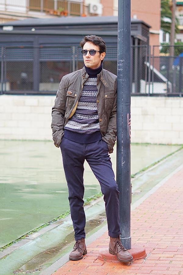 casual look men