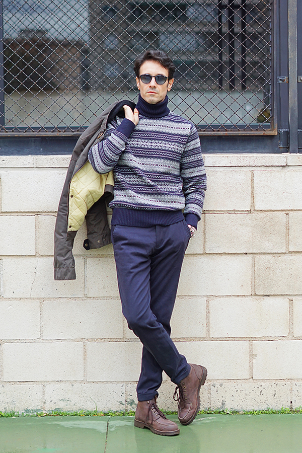 winter outfit men