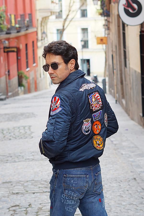 pilot jacket men