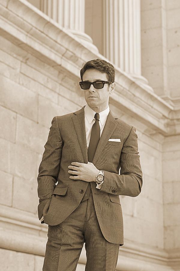vintage suit men
