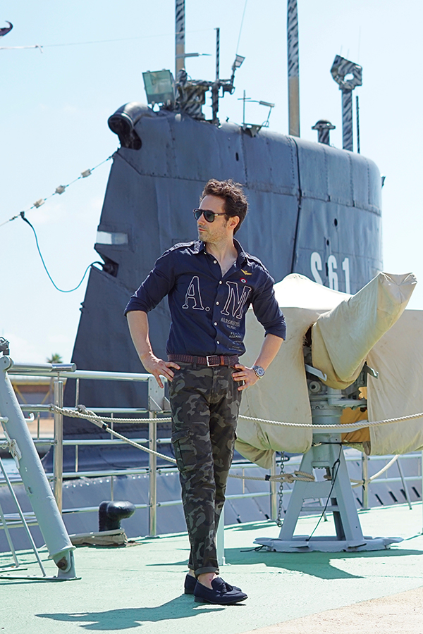 military outfit men