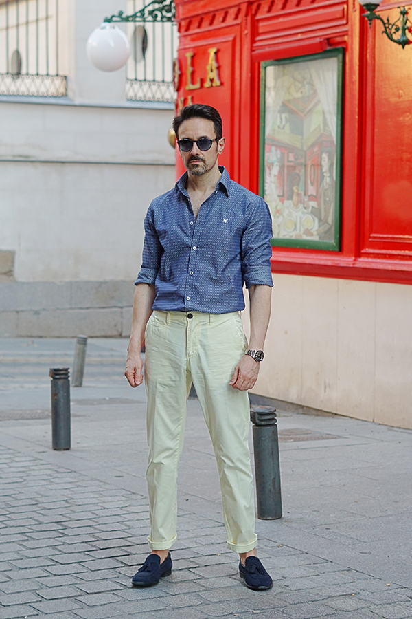 summer casual outfit men