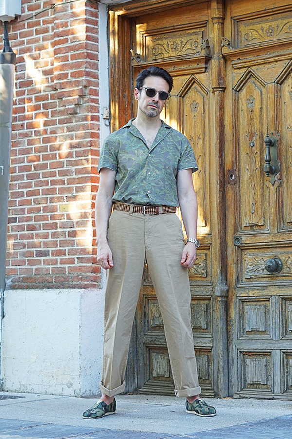 vintage outfit for men