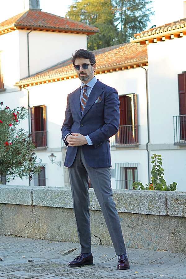 suit style for men