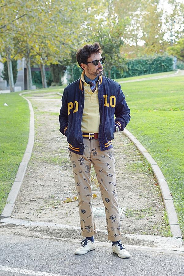 universitary style men