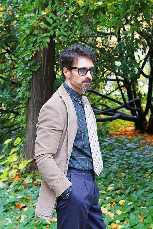 corduroy blazer jacket men