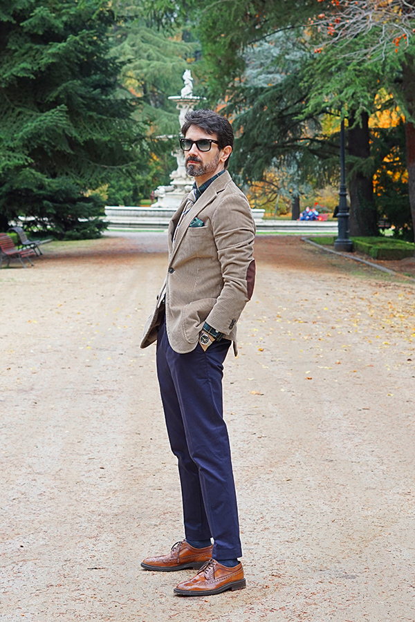 fall outfit for men