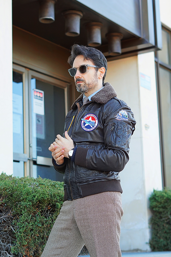 leather jacket for men