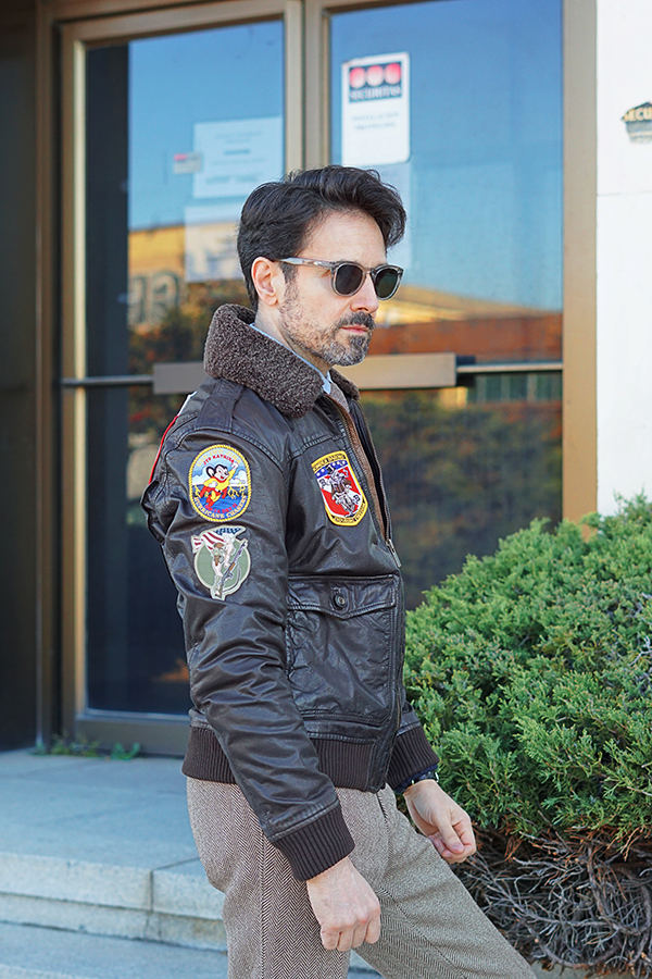 pilot jacket for men