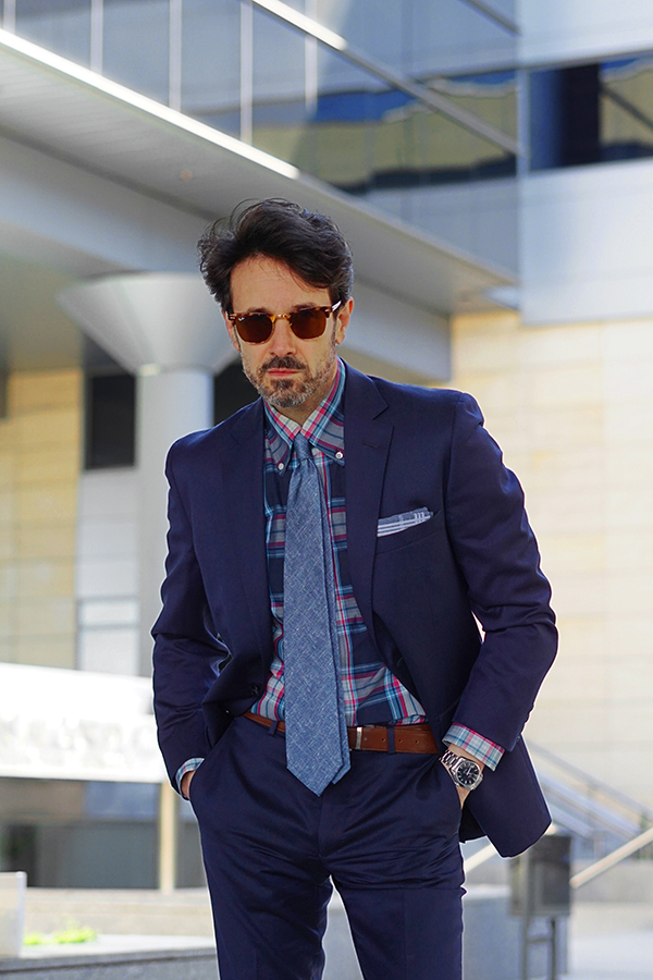 casual suit for men