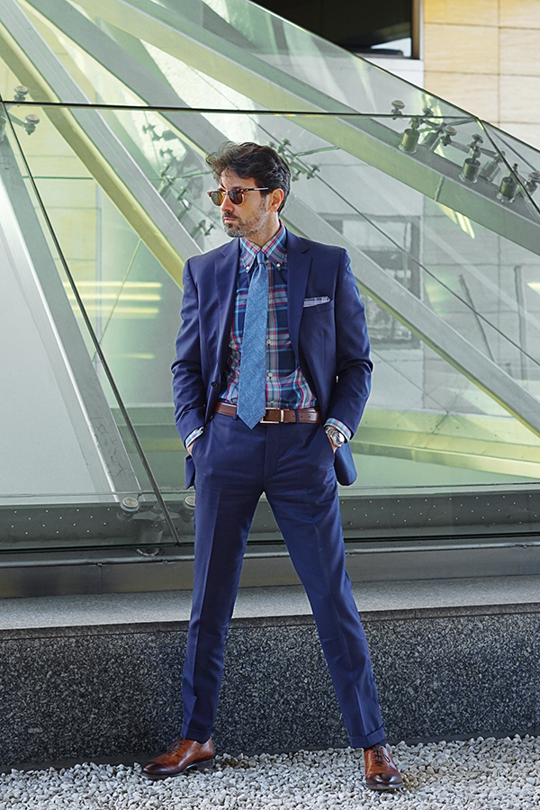 spring suit for men