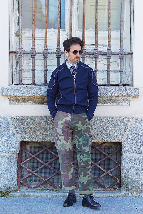military outfit for men