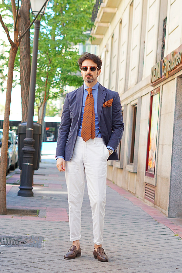 spring outfit for men