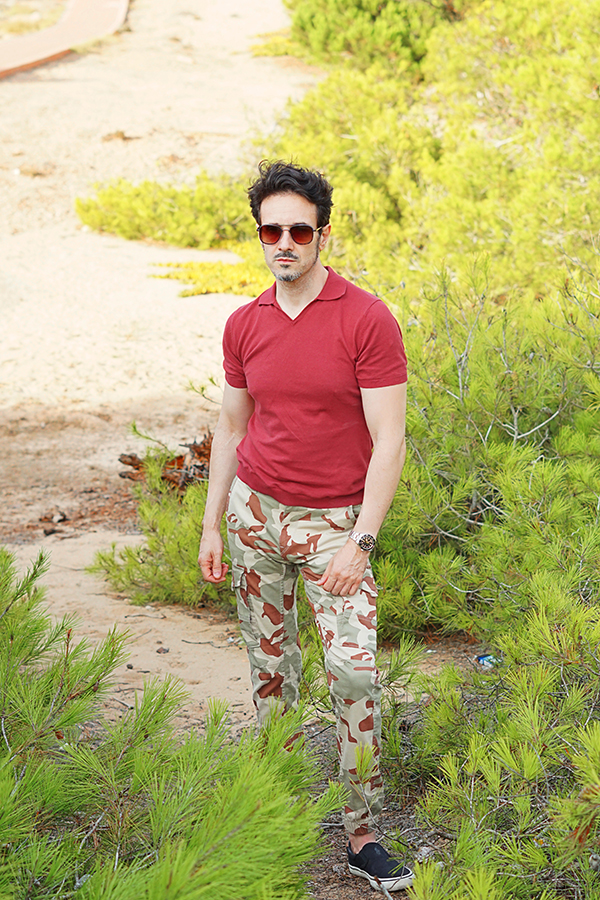 camouflage outfit for men