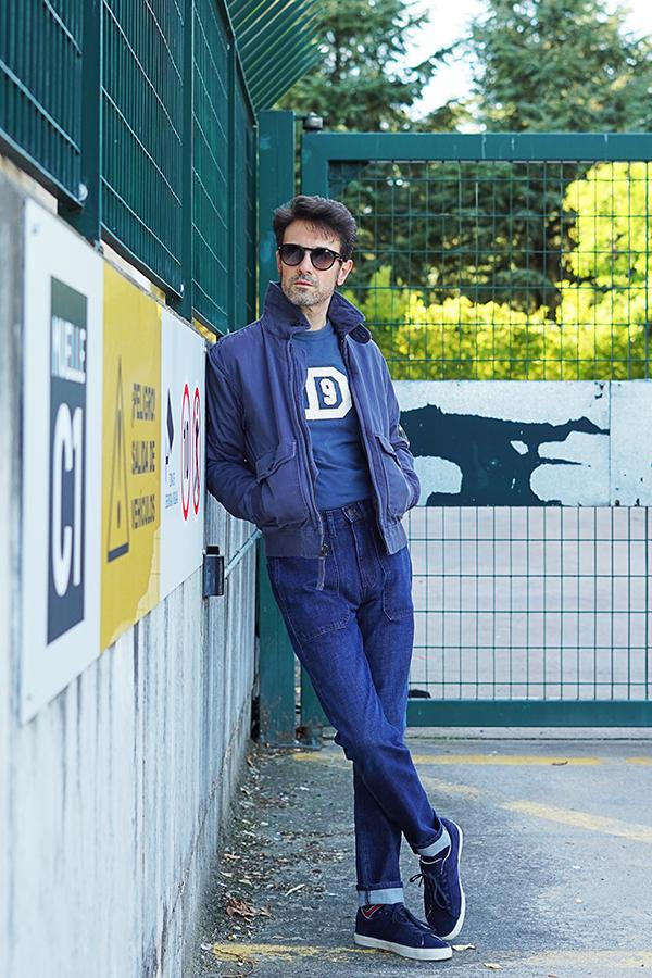 denim outfit for men